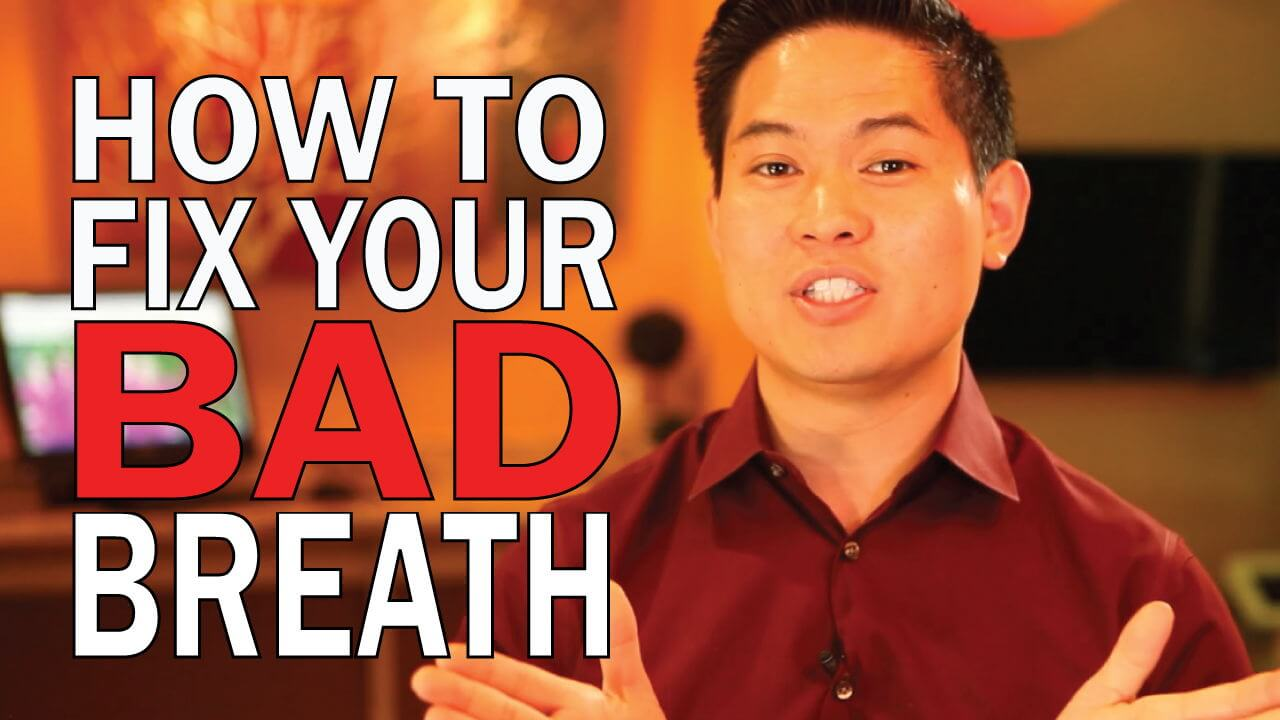How to correct bad breath