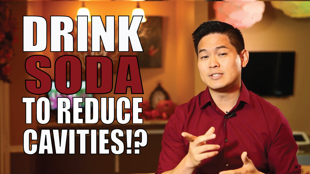 Drink soda to reduce cavities?